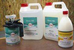 進化したR-Mの水性塗料ラインを導入